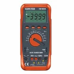 KM-6040 Auto Ranging Digital Multimeter With Terminal Blocking Protection System
