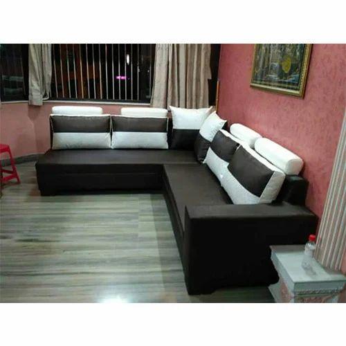 L Shaped Sofa Set At Rs 20000 Set Topsia Kolkata Id 15790881830