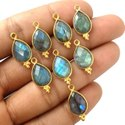 Labradorite Pear Shape Fancy Bezel Pendant