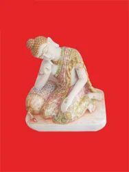 Relaxing Buddha Statue