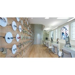 Optical Showroom Designing, 3D Interior Design Available: Yes