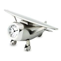 Aeroplane Shape Desktop Clock