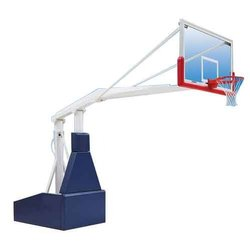 Roxan Basketball Pole with Board & Ring