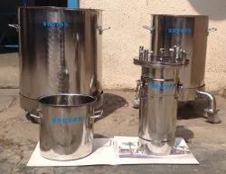Stainless Steel Pesticides Mixing Vessel