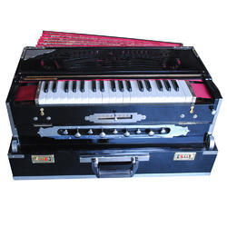 9 Scale 3 Line Portable Harmonium With Coupler