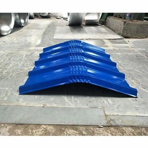 Galvalume Ridge Galvalume Profile Ridge Manufacturer From Thane