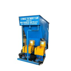 0.4 kW Semi-Automatic Packaged Sewage Treatment Plant, 5 kW