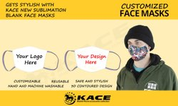 sublimation face mask blanks