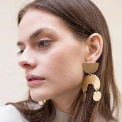 African Tribal Women Ethnic Geometric Design Gypsy Studs Earring