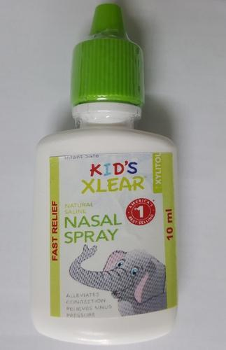 Xylitol And Saline Nasal Spray 10ml & Kid's Xylitol and