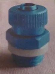 1/4 PU8 X 12 Male Connector