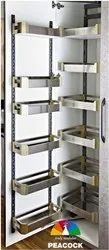 Stainless Steel Satin Pantry Unit