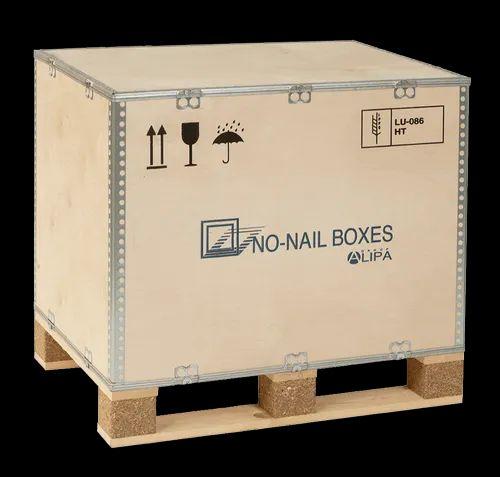 NAIL LESS FOLDABLE PLYWOOD BOX