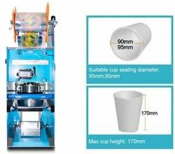 Semiautomatic Cup Or Glass Sealing Machine