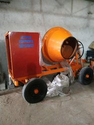 Concrete Mixer With  Out Hopper