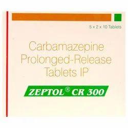 Zeptol CR 300 Carbamazepine (300mg)