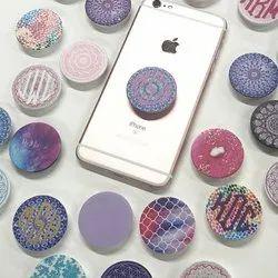 Multicolor Plastic Pop Socket