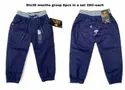 Blue Full Length Kids Trousers