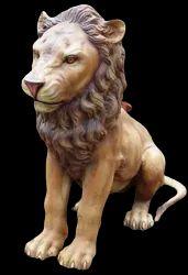 FRP Lion Statue