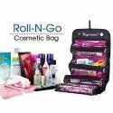 Roll N GO 4 In 1 Travel Buddy Cosmetic Shaving Toiletry Bag Jewellery Storage Organizer - ROLL-N-GO