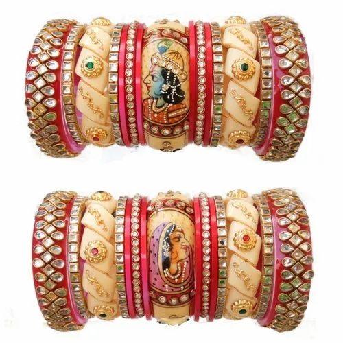 Rajwadi Designer Bridal Chura