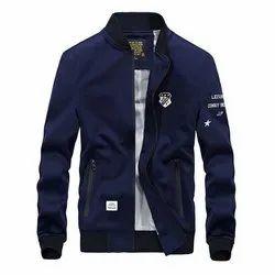 Full Sleeve Casual Jackets Mens Fashion Winter Jackets, Size: L-XXL