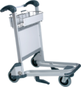 Stainless Steel Airport Trolley