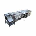 Complete Bar Counter Setup