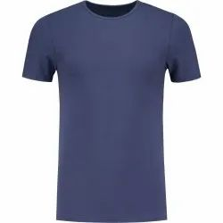 Cotton Casual Wear Men Half Sleeve Plain T-Shirt, Quantity Per Pack: 100 Pieces