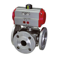 Pneumatically and Electrically Actuated Valve