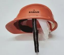 Safety Helmet Nape Strap Orange