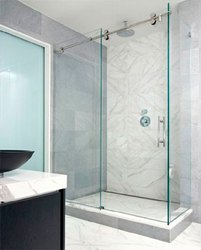 Glass Shower Work Sliding