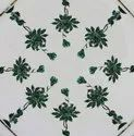 Multi Precious Floral Art Dining Table Top