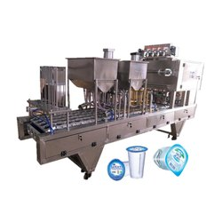 AUTOMATIC CUP FILLING MACHINE FOR CUP