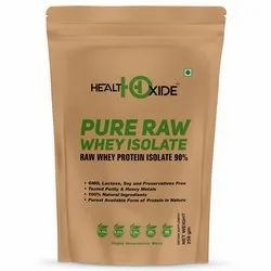 HealthOxide Pure Raw Whey Isolate 90% 250 gm