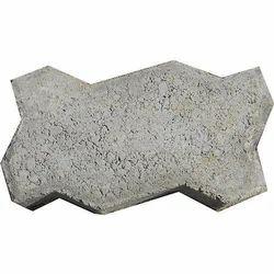 Zigzag Concrete Paver Block