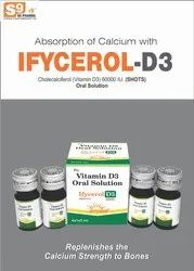 Cholecalciferol (Vitamin D3) 600000 IU. (SHOTS) Oral Solution