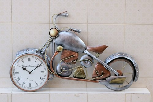 Metal Motorcycle Wall Art.16