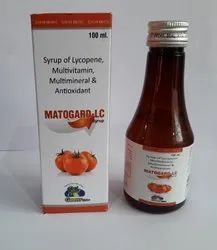 Lycopene, Miltivitamin & Multimineral Syrup