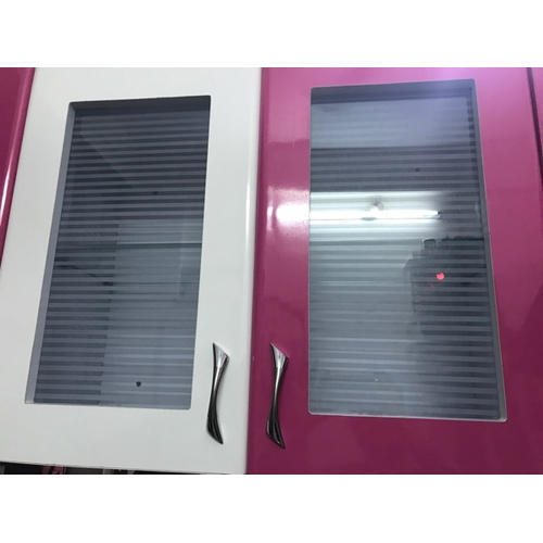 Glass Door Kitchen Cabinet Om Vishnu Steel Furniture