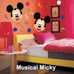 Big Stencils Musical Micky