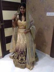 Wedding Wear Shaded Bridal Lehenga
