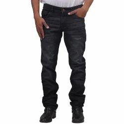 Black Mens Jeans-Fashion J