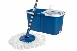 Mop Spin Twin Bucket With 2 Refills And 1 Liquid Dispenser