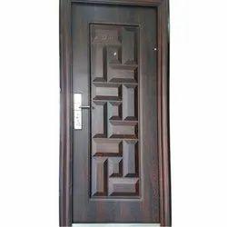Teak Wood Safety Door