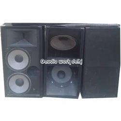 Gaudio 2000 Dual Bass Woofer Cabinet for tempu mobile dj setup., Model Name/Number: 218trs