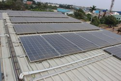 Industrial Off Grid Solar Power Plant