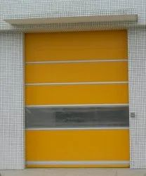 Roll Ups Glossy High Speed PVC Door, For Industrial, Exterior