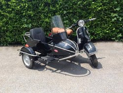 Cozy Kozi Rocket Sidecar Left & Right For Vespa 125 Gt/Gtr/Ts/150 Gl /Sprint/V./160 Gs/180 Ss