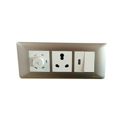 White Havells Electric Switch